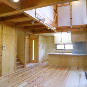 自然のままに暮らせる家 キッチン