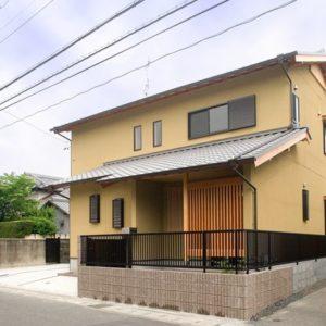 木格子の家 外観